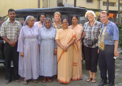 2007: visiting Bihar with Sue Tennant and Dr. John Lange