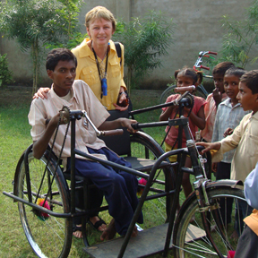 2007: The Tricycle Wheelchair Project