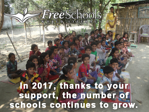 2017 - more schools